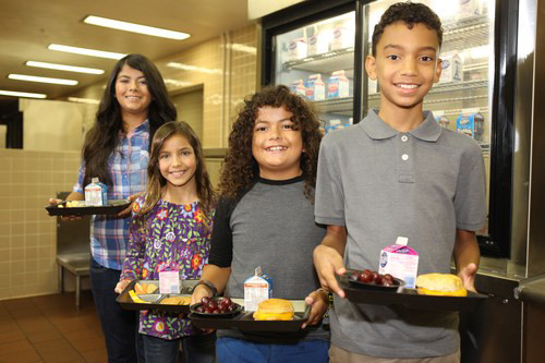 School Breakfast ensures that ALL students start the day with a healthy meal.